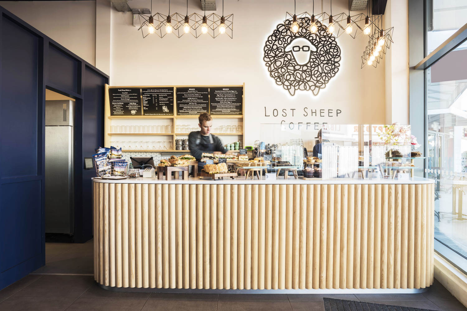 Lost Sheep Coffee Lifeforms Design Bar Designers And